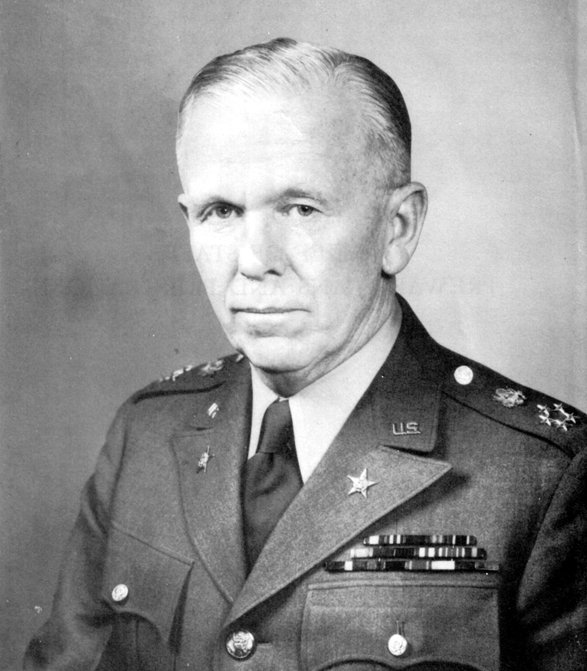 George Catlett Marshall general of the US army